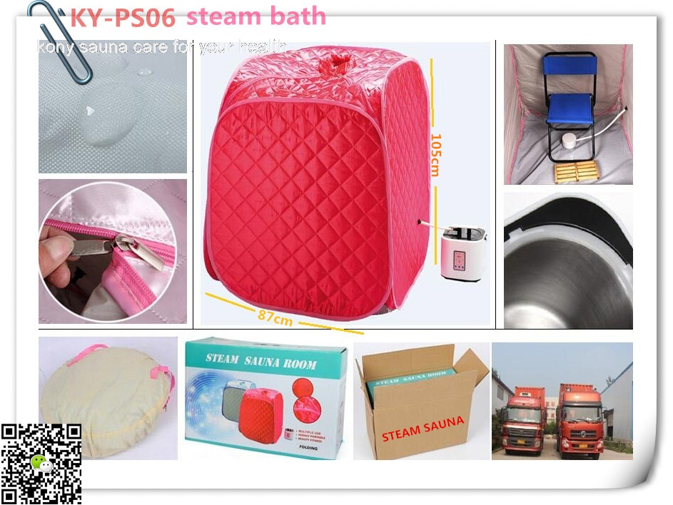 KY-PS06  Portable Steam Sauna helpful on Cure cold & Flu