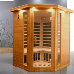KY-BH05,big sauna room with carbon heater & dual control panel as hot therapy sauna dome