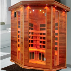KY-AR05 carbon fiber heater,cedar wood sauna dome